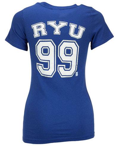 5th & Ocean Women's Hyun-Jin Ryu Los Angeles Dodgers Foil Player T-Shirt