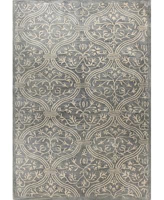 macy s rug gallery bordeaux floral vase slate area rugs rugs macy s