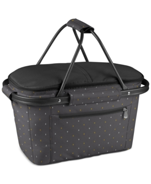 Picnic Time Anthology Collection Market Basket Collapsible Tote