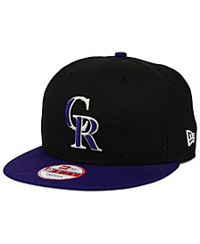 Colorado Rockies 2-Tone Link 9FIFTY Snapback Cap