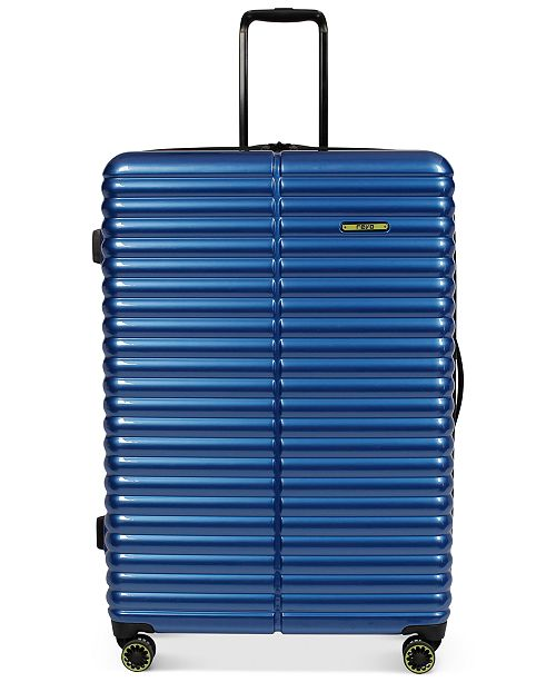 """Revo CLOSEOUT! 60% Off Pipeline 30"""" Hardside Expandable Spinner Suitcase, Created for Macy's"""