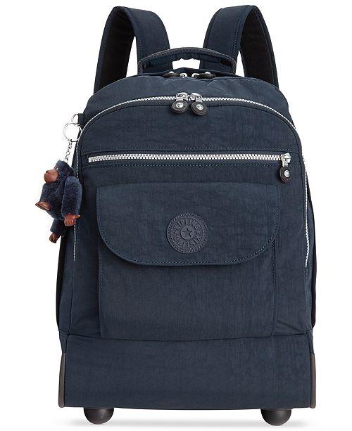 b1ad653b11e3 Kipling Sanaa Large Rolling Backpack - Handbags   Accessories - Macy s