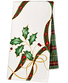 Lenox Holiday Nouveau Set of 4 Reversible Napkins