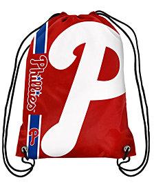 Forever Collectibles Philadelphia Phillies Big Logo Drawstring Bag