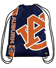 Forever Collectibles Auburn Tigers Big Logo Drawstring Bag