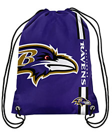 Forever Collectibles Baltimore Ravens Big Logo Drawstring Bag