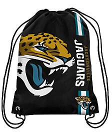 Forever Collectibles Jacksonville Jaguars Big Logo Drawstring Bag