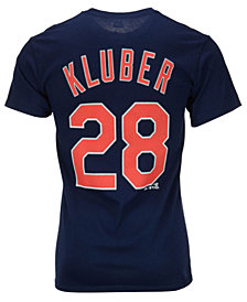 Majestic Men's Corey Kluber Cleveland Indians Player T-Shirt