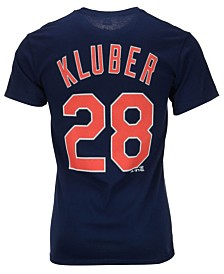 Majestic Men's Corey Kluber Cleveland Indians Player T-Shirt