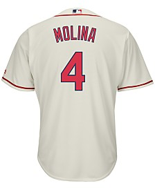 Majestic Men's Yadier Molina St. Louis Cardinals Replica Jersey