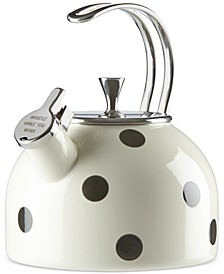 all in good taste Deco Dot Tea Kettle