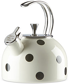 kate spade new york all in good taste Deco Dot Tea Kettle