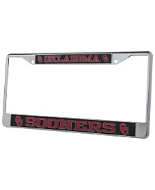 Stockdale Oklahoma Sooners Carbon License Plate Frame