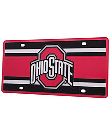 Stockdale Ohio State Buckeyes Super Stripe License Plate
