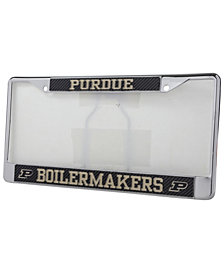 Stockdale Purdue Boilermakers Carbon License Plate Frame