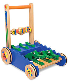 Melissa and Doug Toy, Chomp & Clack Alligator Push Toy