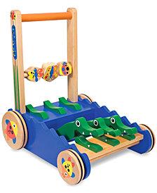 Melissa and Doug Toy, Chomp & Clack Alligator Push Toy