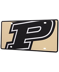 Stockdale Purdue Boilermakers Mega Laser License Plate