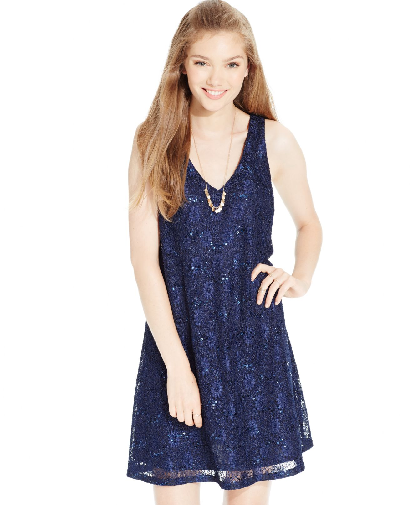 Sequin Heart Dresses