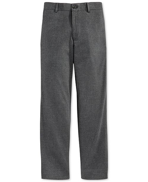 Lauren Ralph Lauren Solid Tux Pants, Big Boys