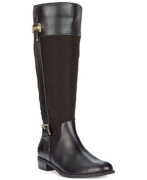 fc227e0edd2 ... Karen Scott Deliee Wide-Calf Riding Boots