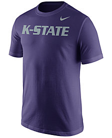 Nike Men's Kansas State Wildcats Wordmark T-Shirt