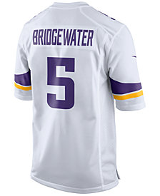 Nike Men's Teddy Bridgewater Minnesota Vikings Game Jersey