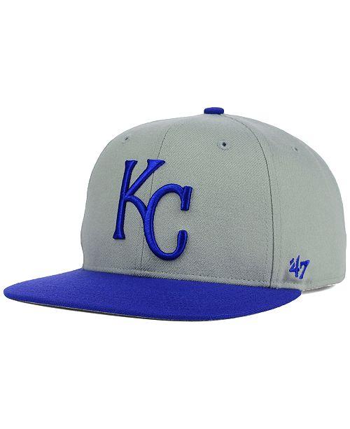 '47 Brand Kansas City Royals Sure Shot Snapback Cap