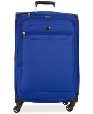 "Image of CLOSEOUT! Delsey Helium Fusion 25"" Expandable Spinner Suitcase, Only at Macy's"