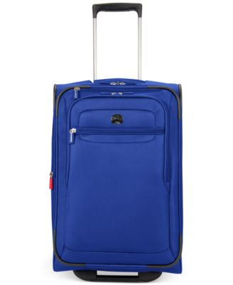 "Image of CLOSEOUT! Delsey Helium Fusion 21"" Expandable Rolling Suitcase, Only at Macy's"