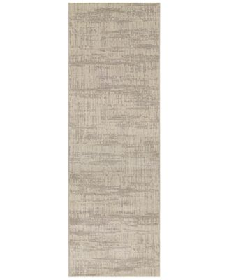 "Area Rug, Taylor Graphite Sea Mist 2'7"" x 7'10"" Runner Rug"