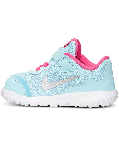 071f1b5a1e4e2 ... Nike Toddler Girls  Flex Experience 4 Running Sneakers from Finish ...