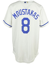 Majestic Kids' Mike Moustakas Kansas City Royals Replica Jersey, Big Boys (8-20)