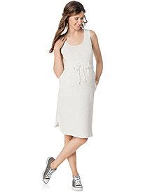 Motherhood Maternity Sleeveless Empire-Waist Dress