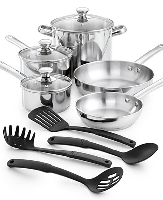 Tools of the Trade 12-Pc Cookware Set