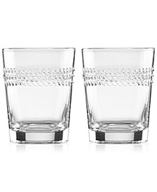 Wickford Double Old-Fashioned Glasses, Set of 2