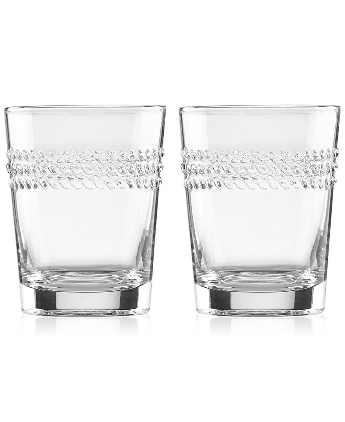 kate spade new york - Wickford Double Old-Fashioned Glasses, Set of 2