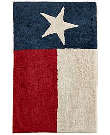 "Texas Star 20"" x 30"" Cotton Bath Rug"