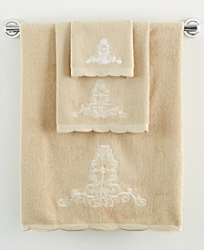 Bath Accessories, French Perle Hand Towel