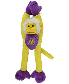 Forever Collectibles Los Angeles Lakers Plush Slider Monkey