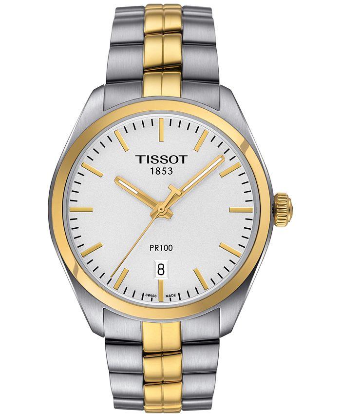 Tissot - Women's Swiss PR 100 Two-Tone Stainless Steel Bracelet Watch 33mm T1012102203100