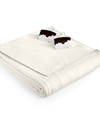 Comfort Knit Fleece Heated Twin Blanket
