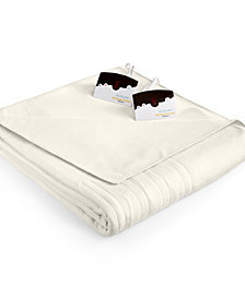 Biddeford Comfort Knit Fleece Heated Twin Blanket