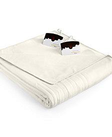 Biddeford Comfort Knit Fleece Heated King Blanket