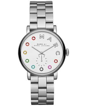 Marc by Marc Jacobs Women's Baker Dexter Stainless Steel Bracelet Watch 36mm MBM3420