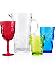 Certified International Acrylic Drinkware Collection