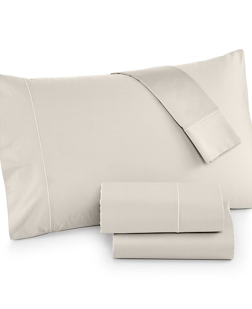 Hotel Collection 525 Thread Count Cotton Twin XL Sheet Set