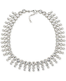 Carolee Silver-Tone Collar Necklace
