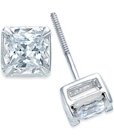 Diamond Stud Earrings (1/4 to 1 ct. t.w.) in 14k White Gold