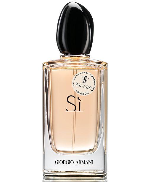 Giorgio Armani Si Eau De Parfum Fragrance Collection Reviews All